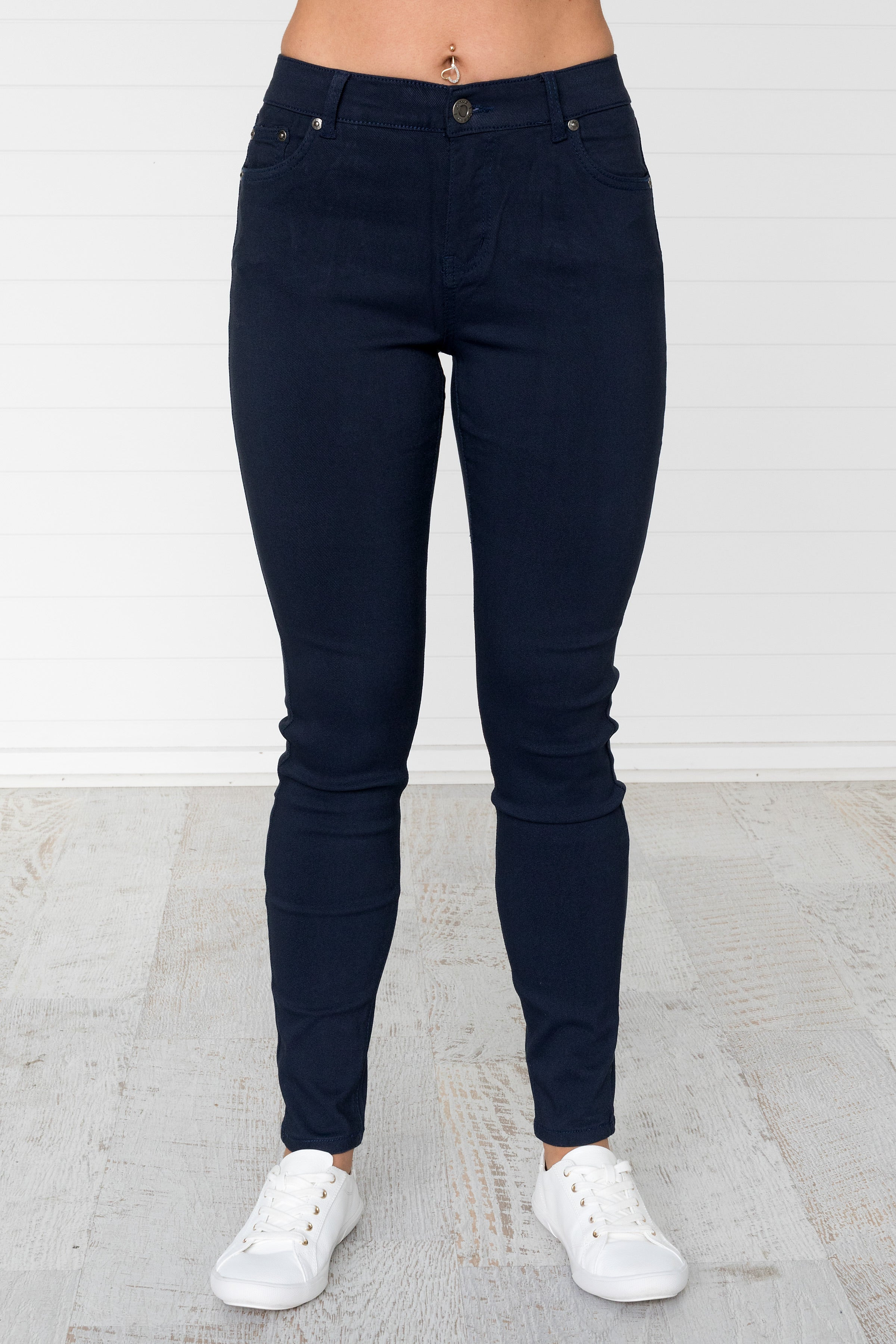 Alby Jeans - Navy