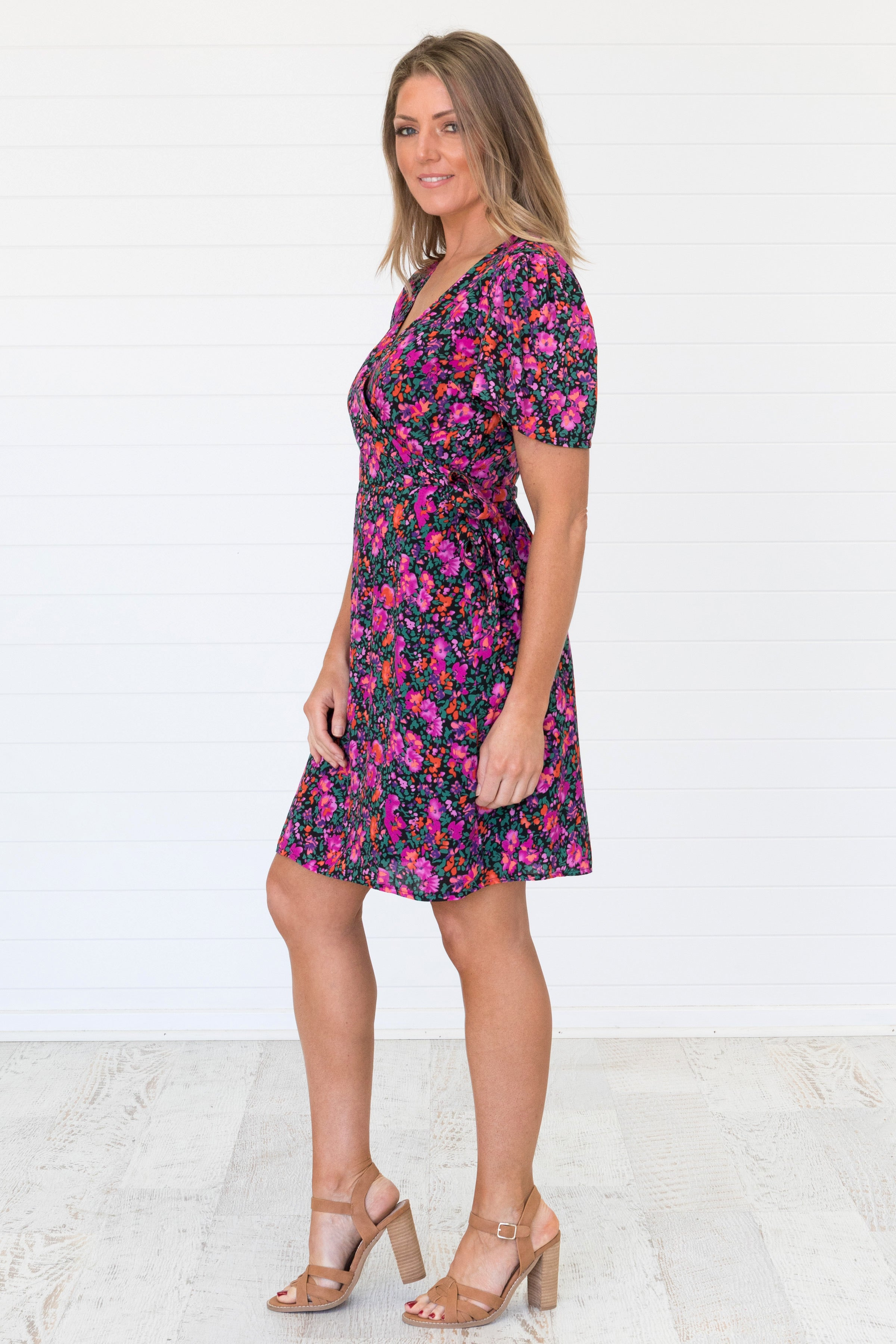 Indianna Dress Pink - Was $59.95