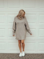 Indi Knit Dress Grey - Was $79.95