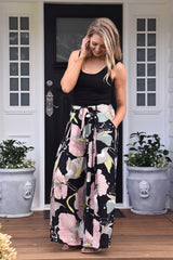Fern Culottes - Blush and Black