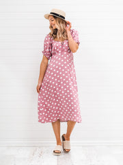 Arabella Dress - Polka Dot