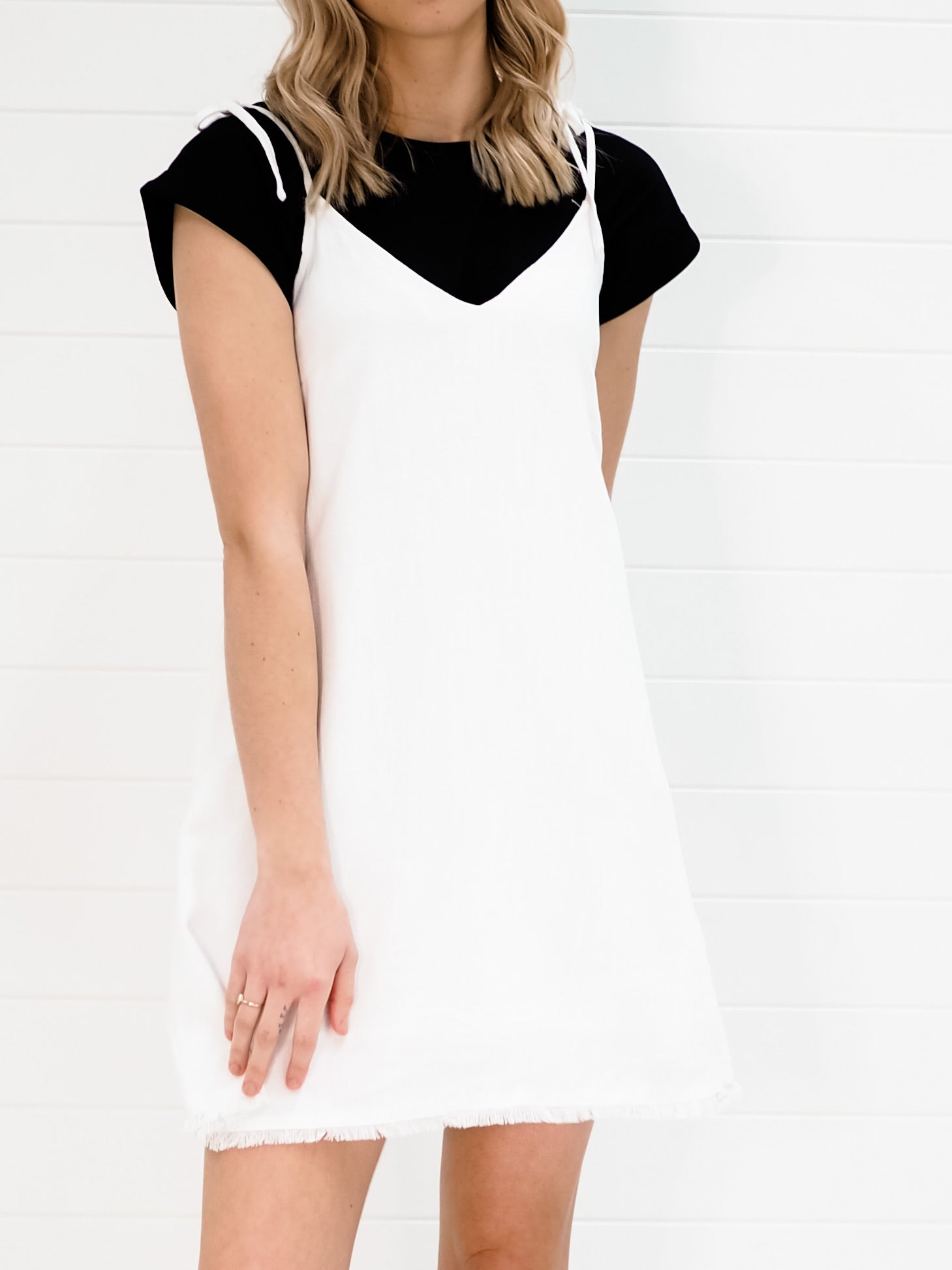 Lacey Dress - White