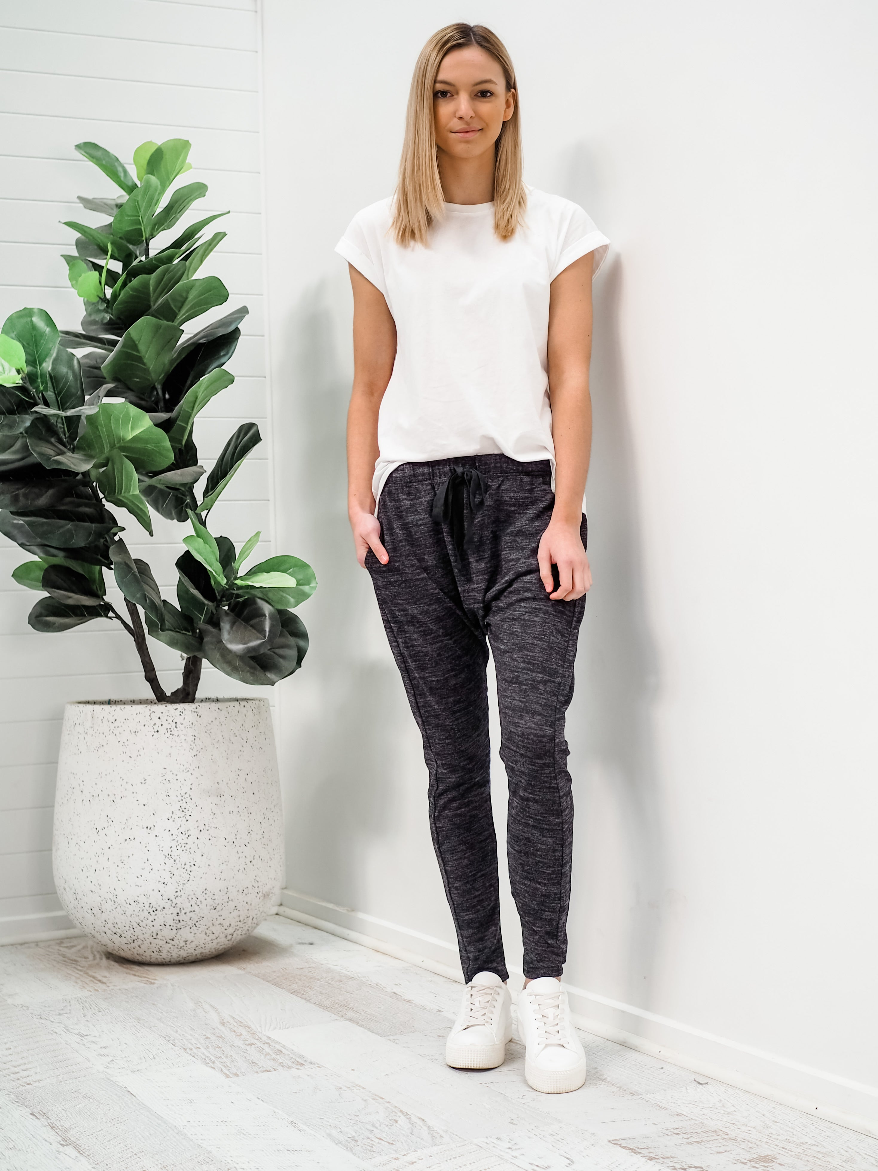 Toby Joggers - Charcoal