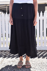 Nina Skirt Black - Was $49.95