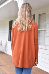 Jacob Knit - Burnt Orange