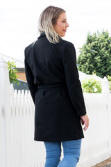 Priscilla Coat - Black