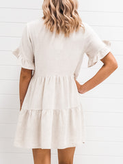Claire Dress - Oatmeal