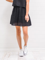 Aisha Skirt - Black