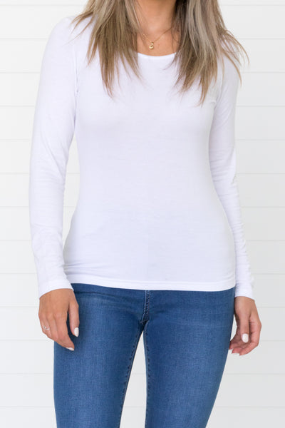 Katie Top - White