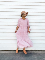 Milly Dress - Pink