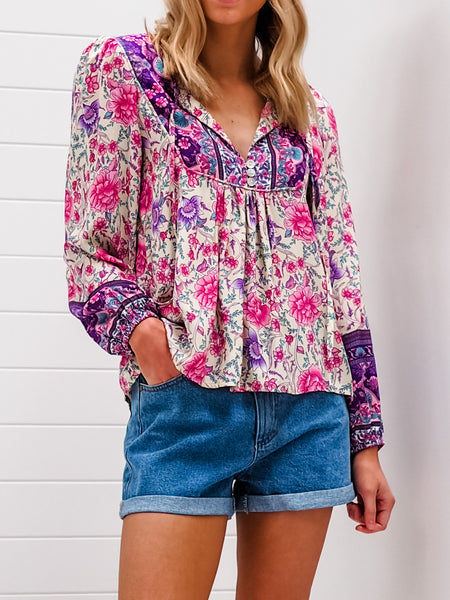 Flossy Blouse