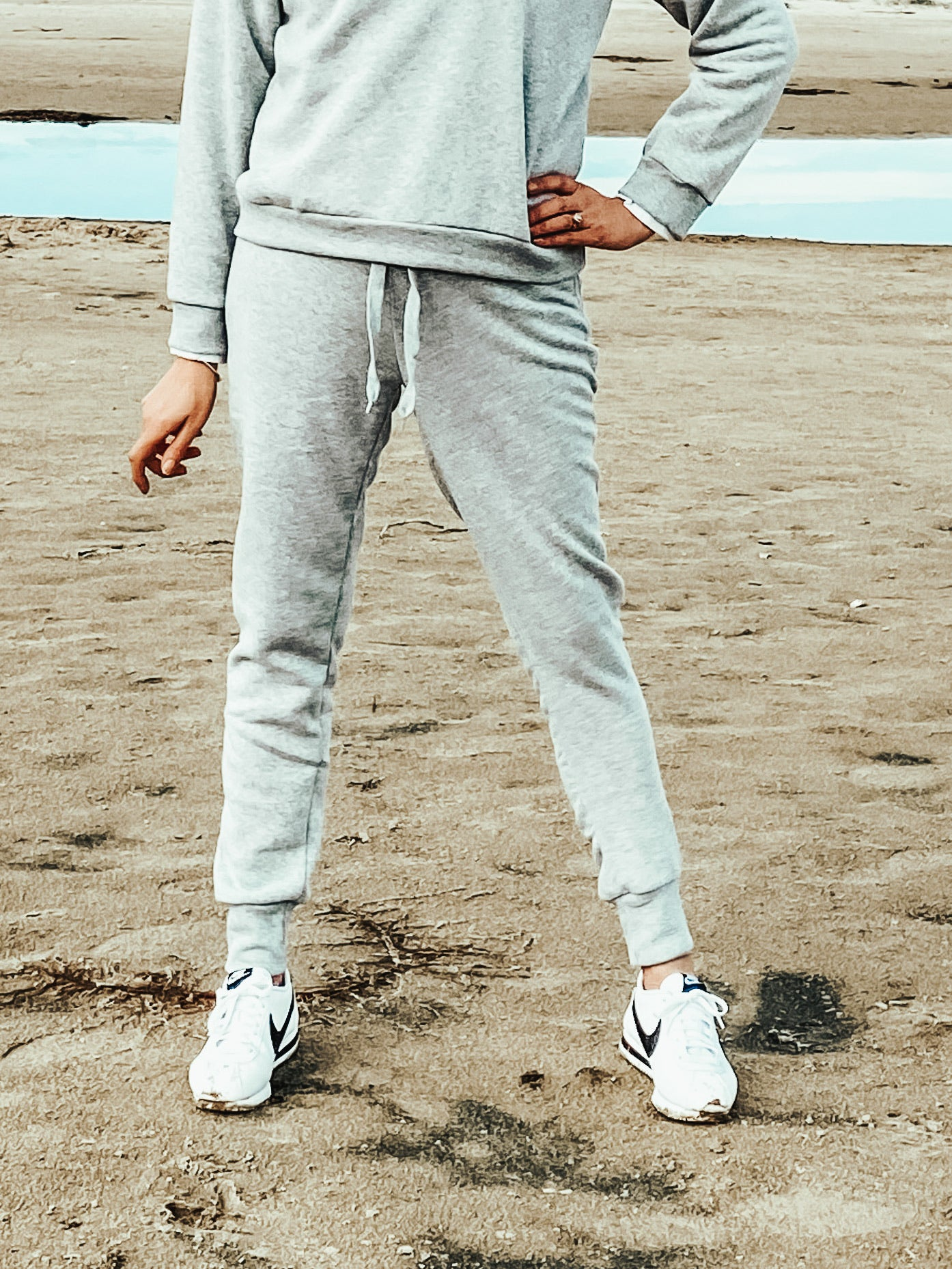 Harper Track Pants Grey - Was $39.95