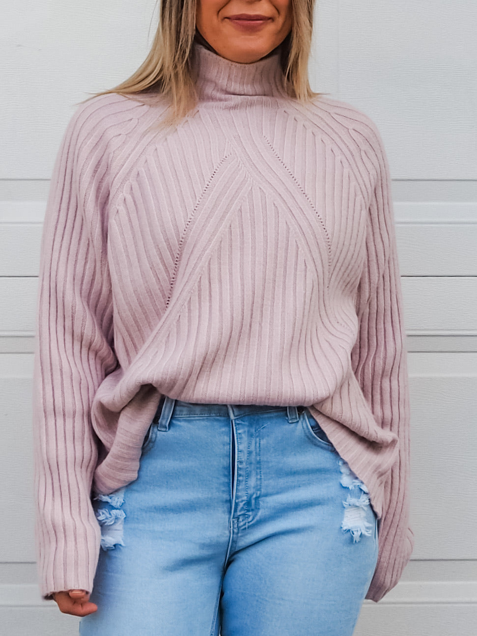 Tahlia Knit - Blush