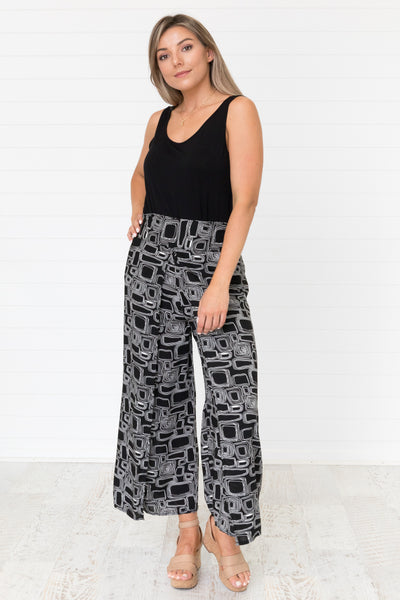 Oliver Culottes - Black and White