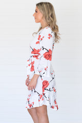 Romance Dress White - Was $59.95