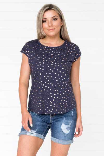 Lucy Tee - Navy