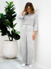 Olivia Pants - Light Grey