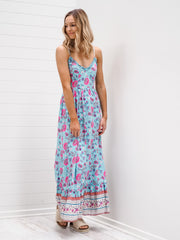 Georgie Dress - Turquoise