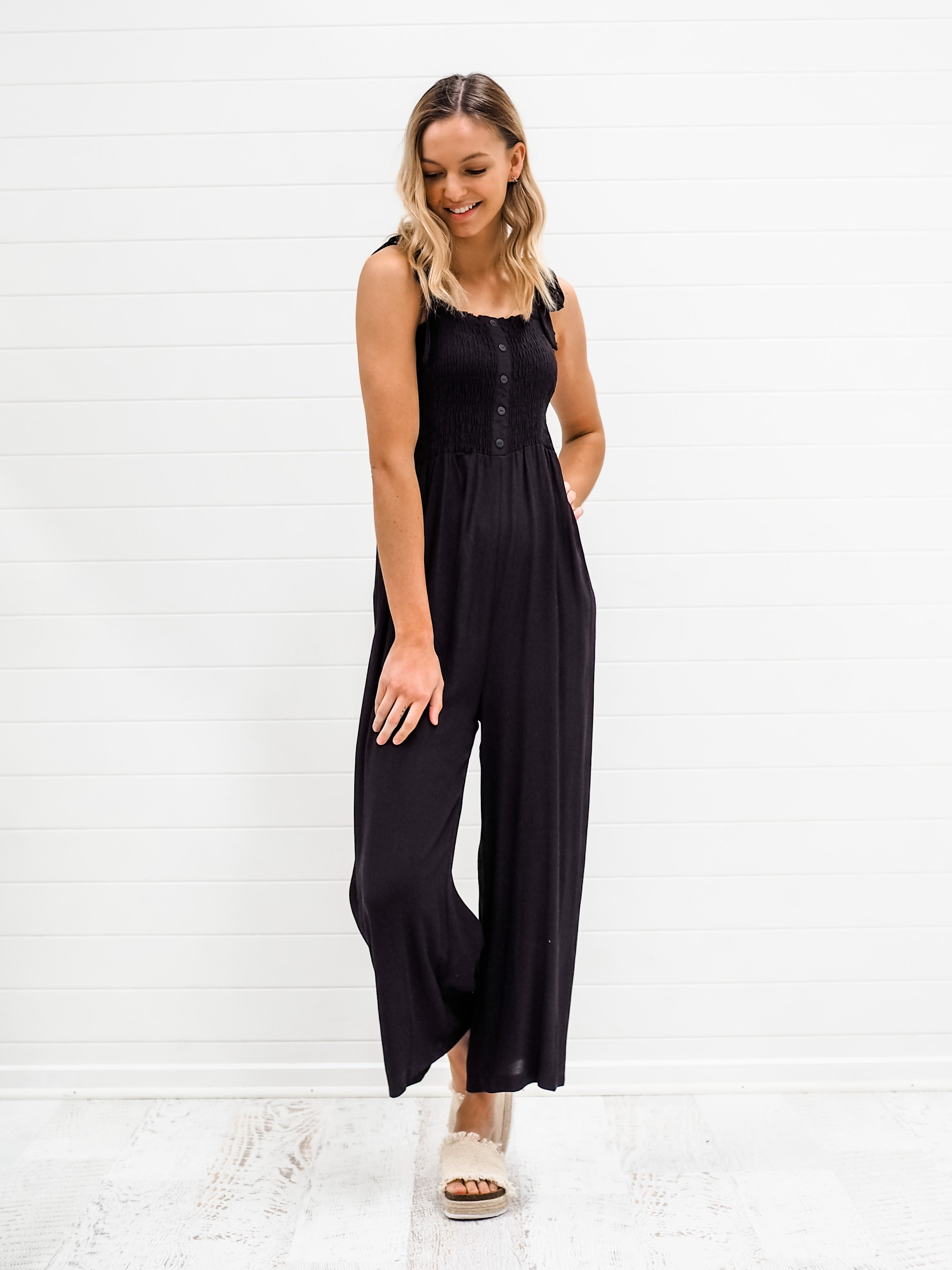Allira Jumpsuit - Black
