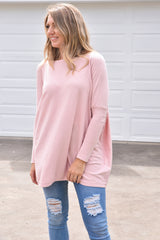 Jacob Knit - Musk Pink