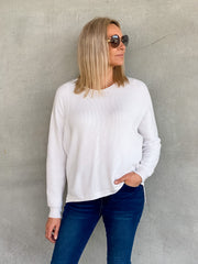Millie Knit White - Was $59.95