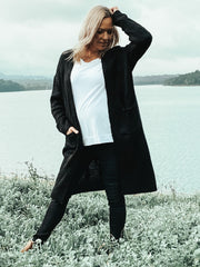 Karla Cardigan - Black