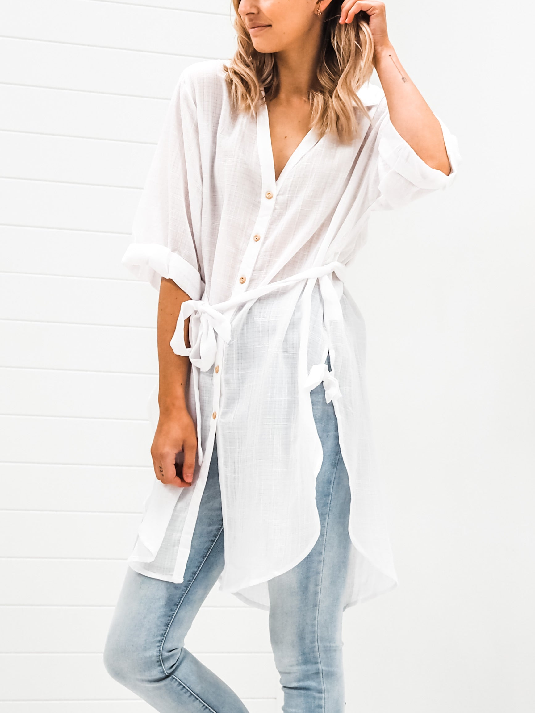 Harriet Shirt - White
