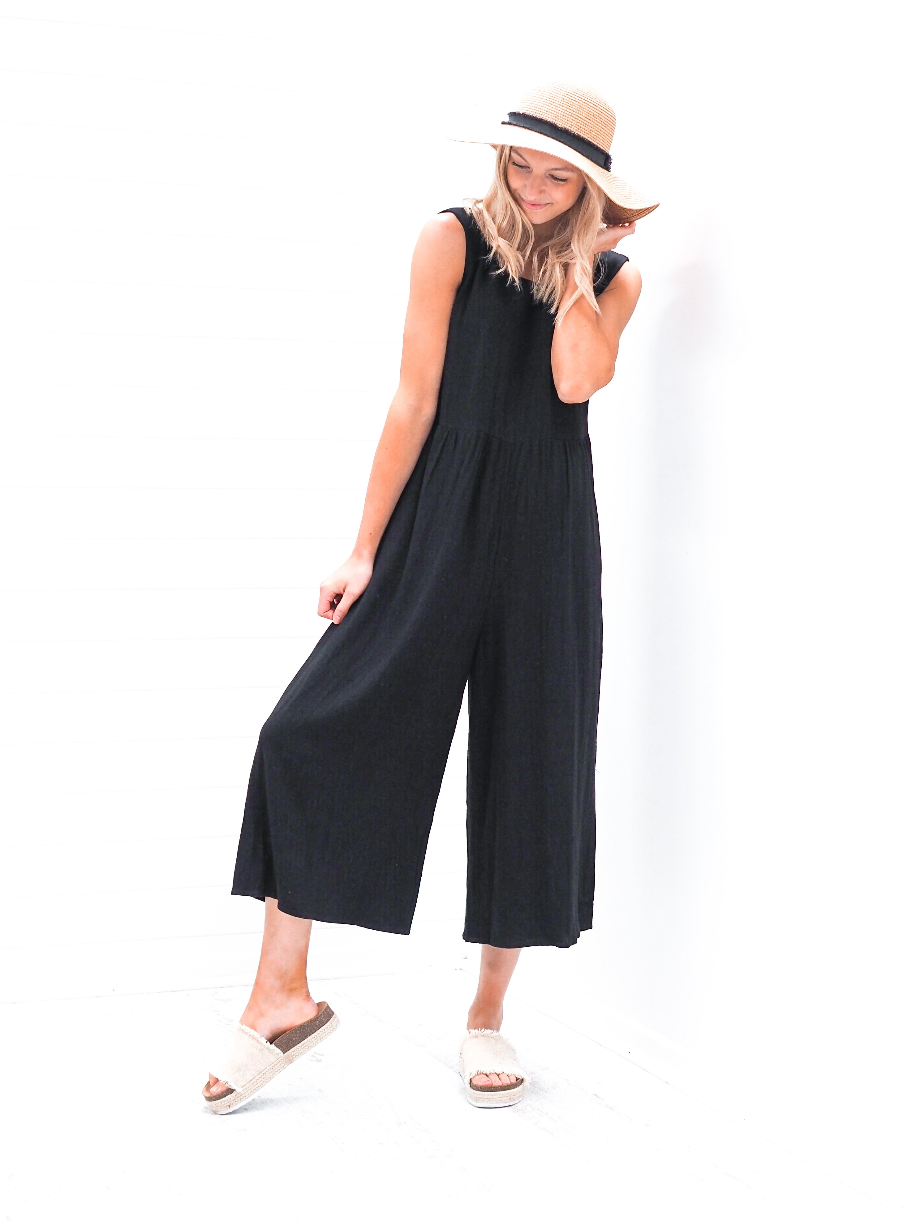 Jubilee Jumpsuit - Black