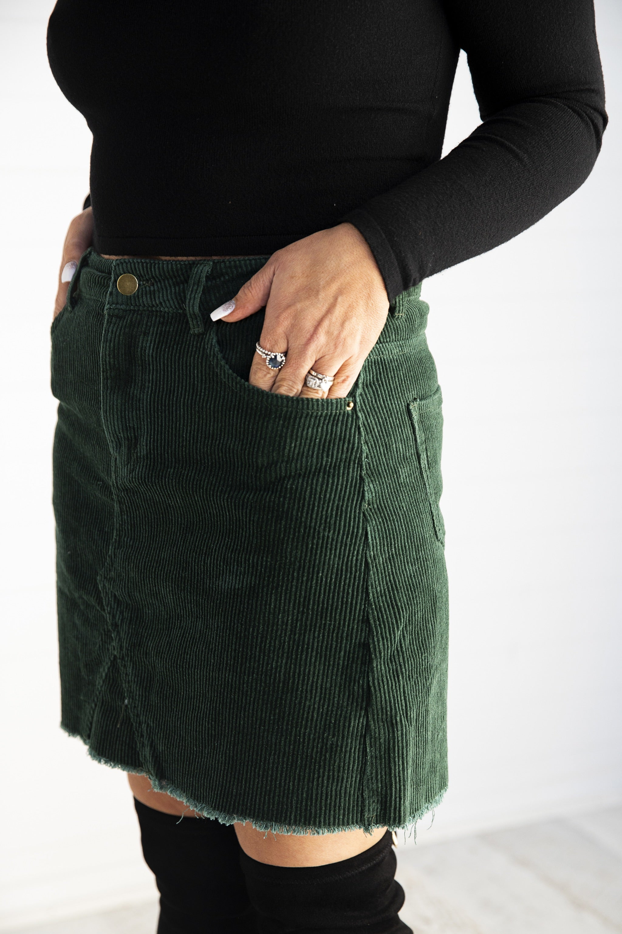 Suzy Skirt Emerald - Was $49 95