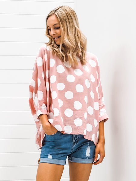 Bronte Blouse - Pink