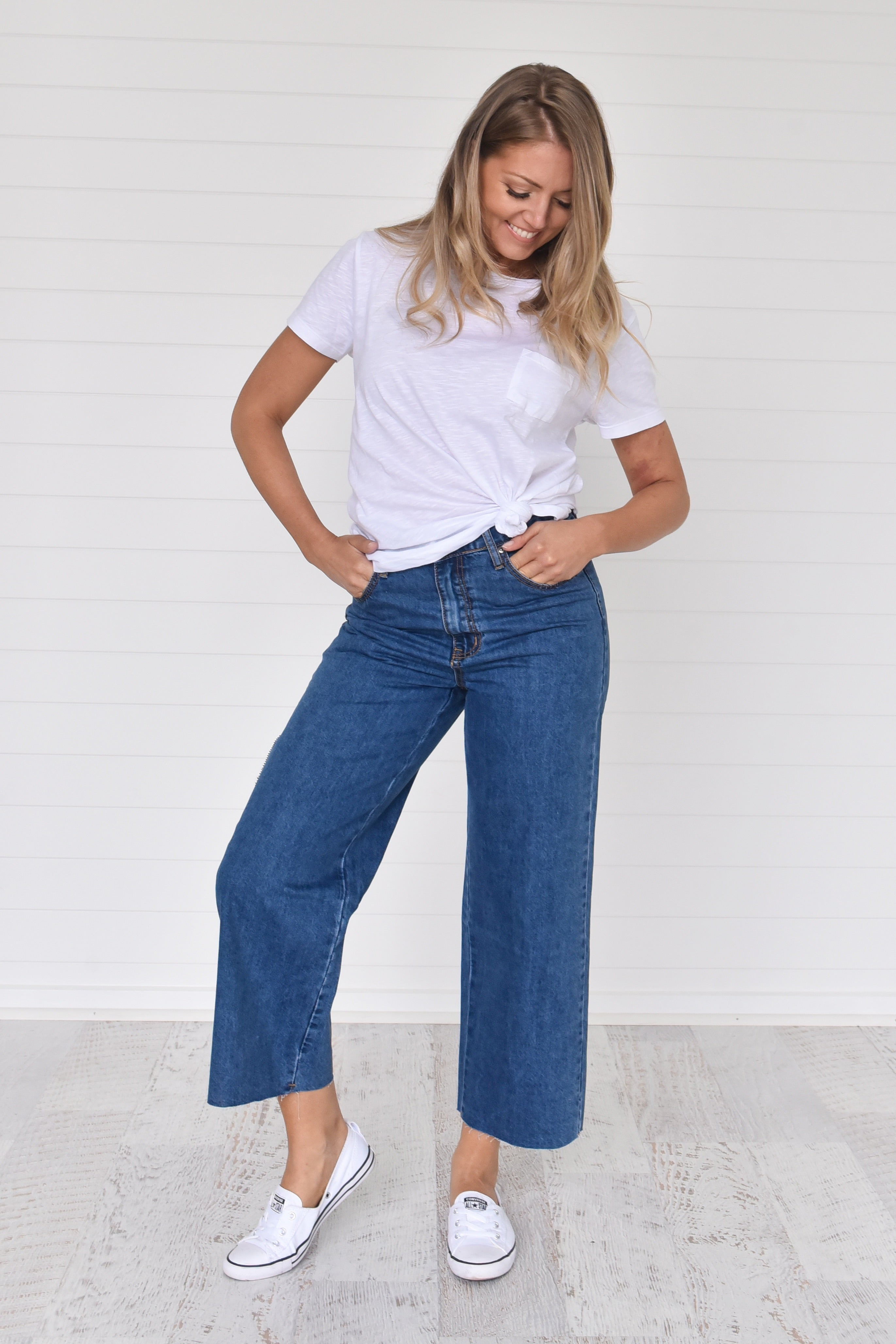 Flynn Jeans Deep blue - Was $59.95