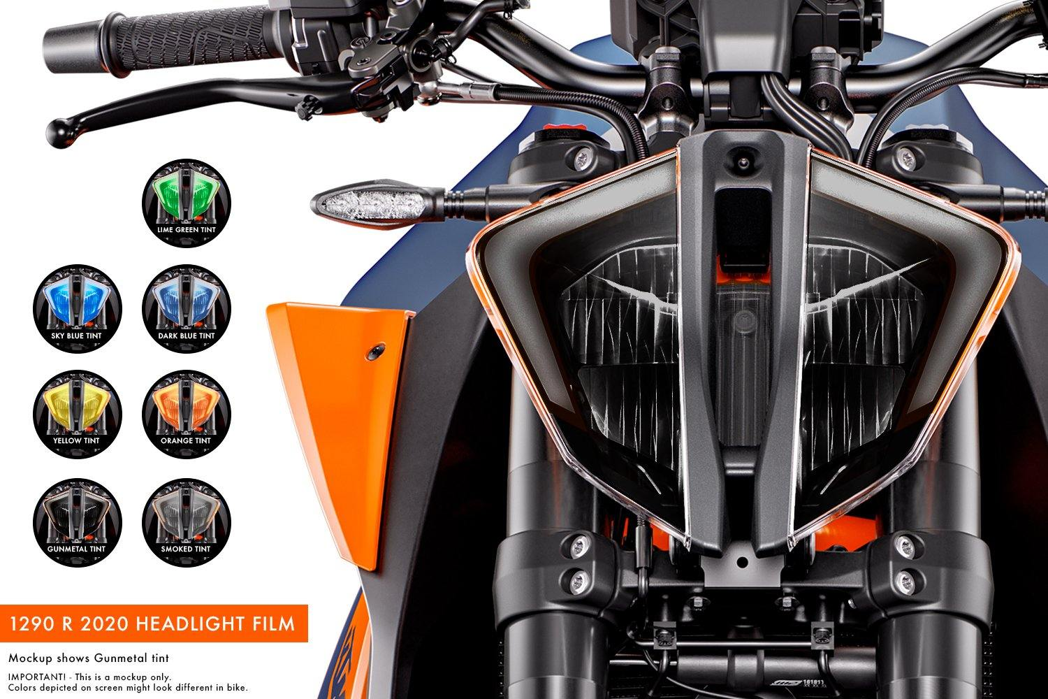 KTM 1290 Superduke R (2020) Premium Headlight tinted film