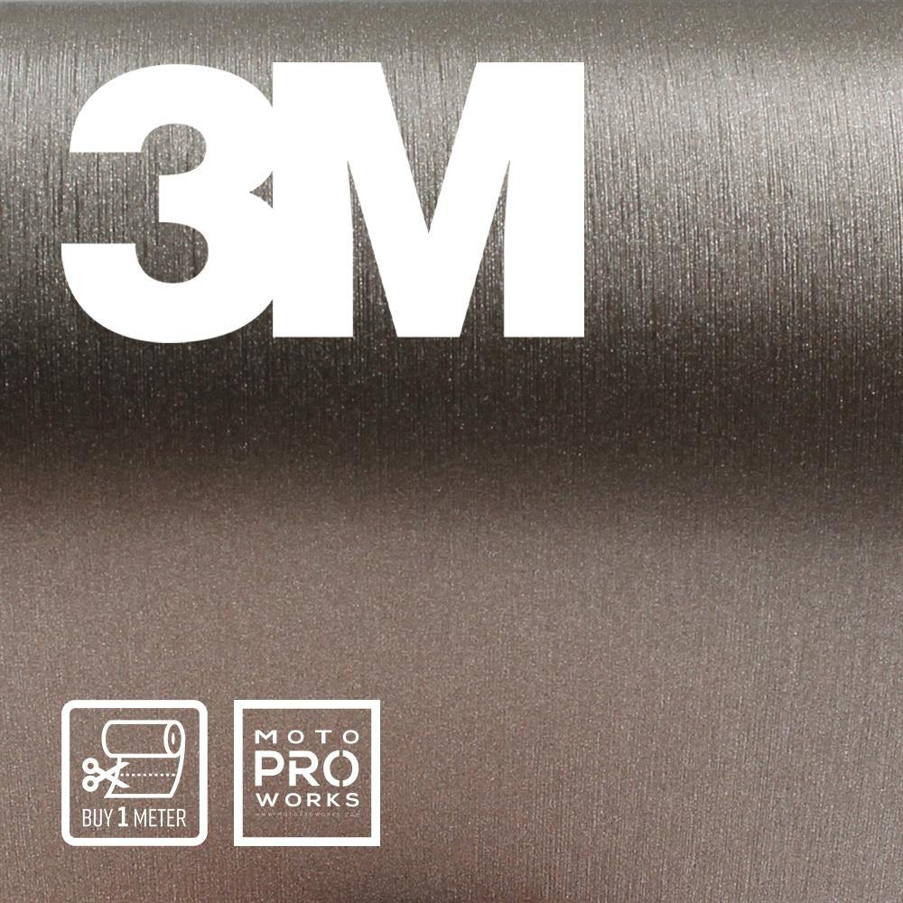 Wrap film | 3M™ 2080-BR230 BRUSHED TITANIUM