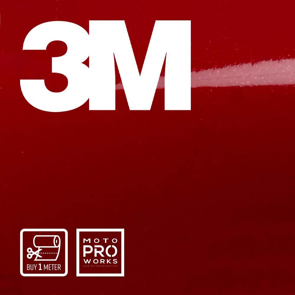 Wrap film | 3M™ 2080-GP253 GLOSS CINDER SPARK RED