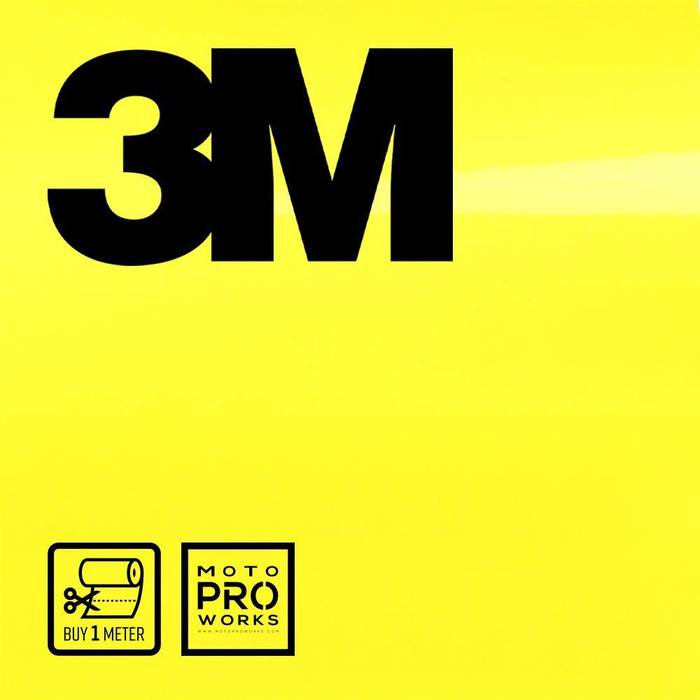 Wrap film | 3M™ 2080-G55 GLOSS LUCID YELLOW