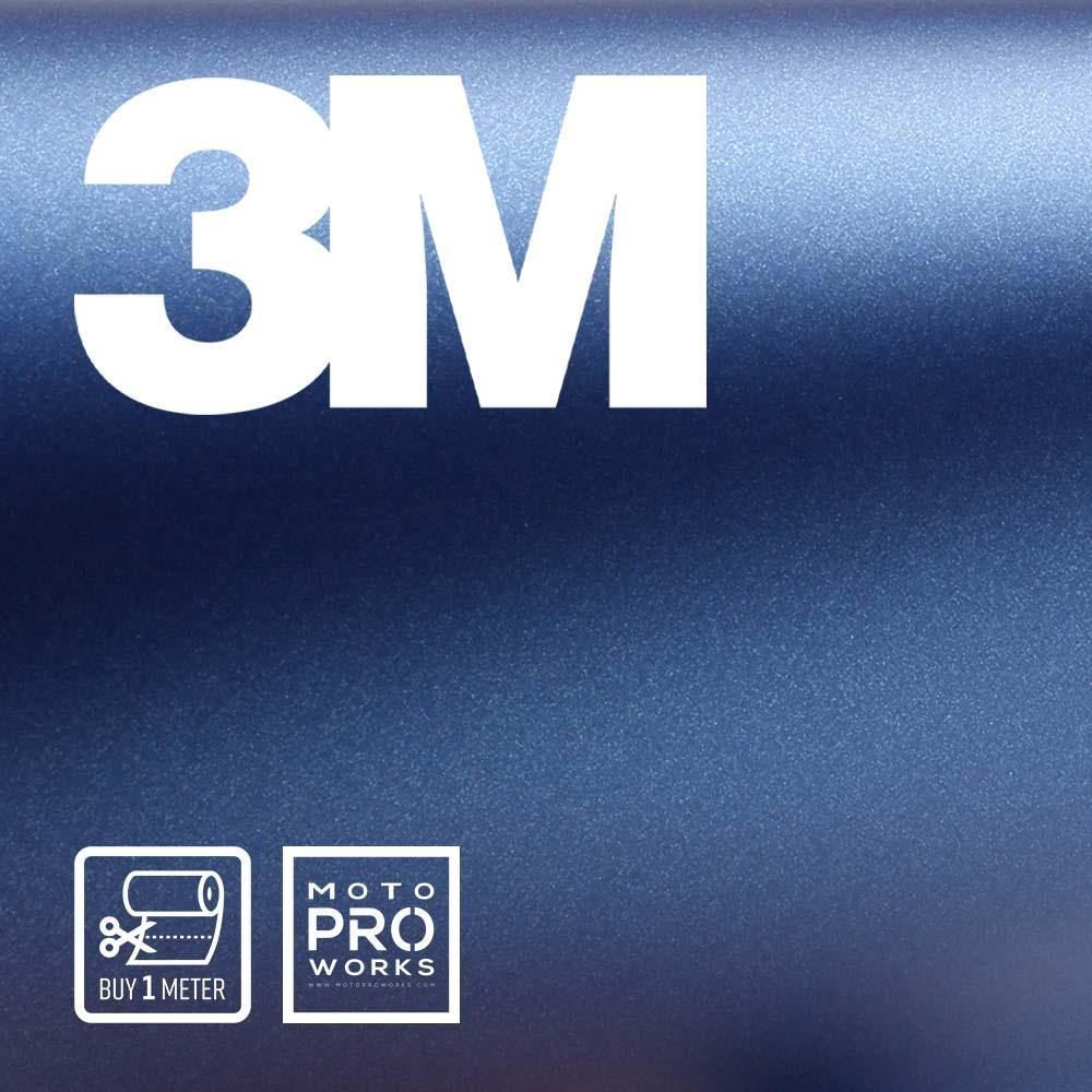 Wrap film | 3M™ 2080-M217 MATTE SLATE BLUE METALLIC