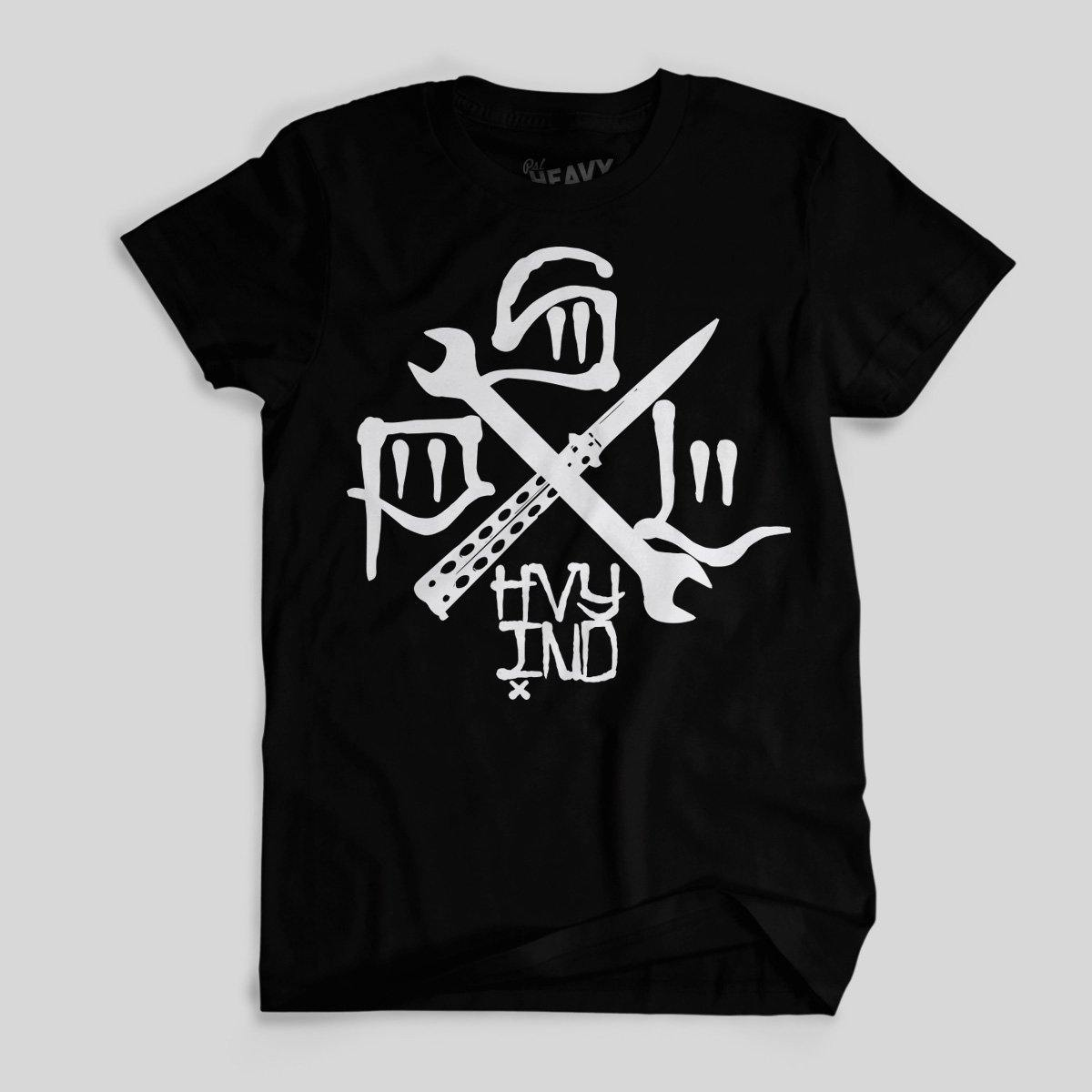 Tools Of the Trade, T-shirt, Black | PSL Heavy Ind