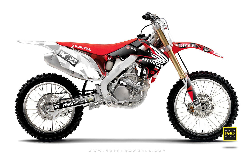 "Honda GRAPHIC KIT - ""ENG"" - MotoProWorks 