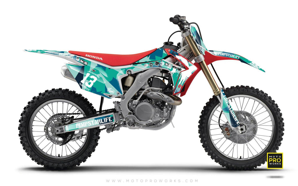 "Honda GRAPHIC KIT - ""M90"" (banger) - MotoProWorks 