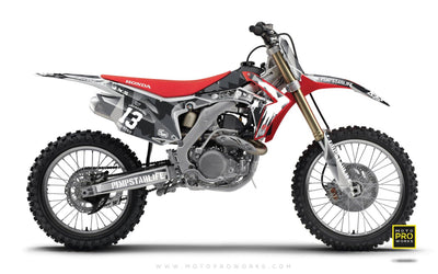 "Honda GRAPHIC KIT - ""M90"" (urban) - MotoProWorks 