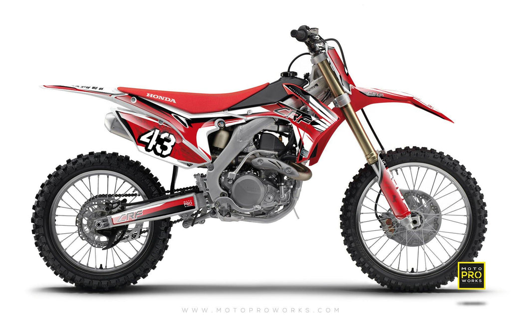 "Honda GRAPHIC KIT - ""WINGPAT"" - MotoProWorks 