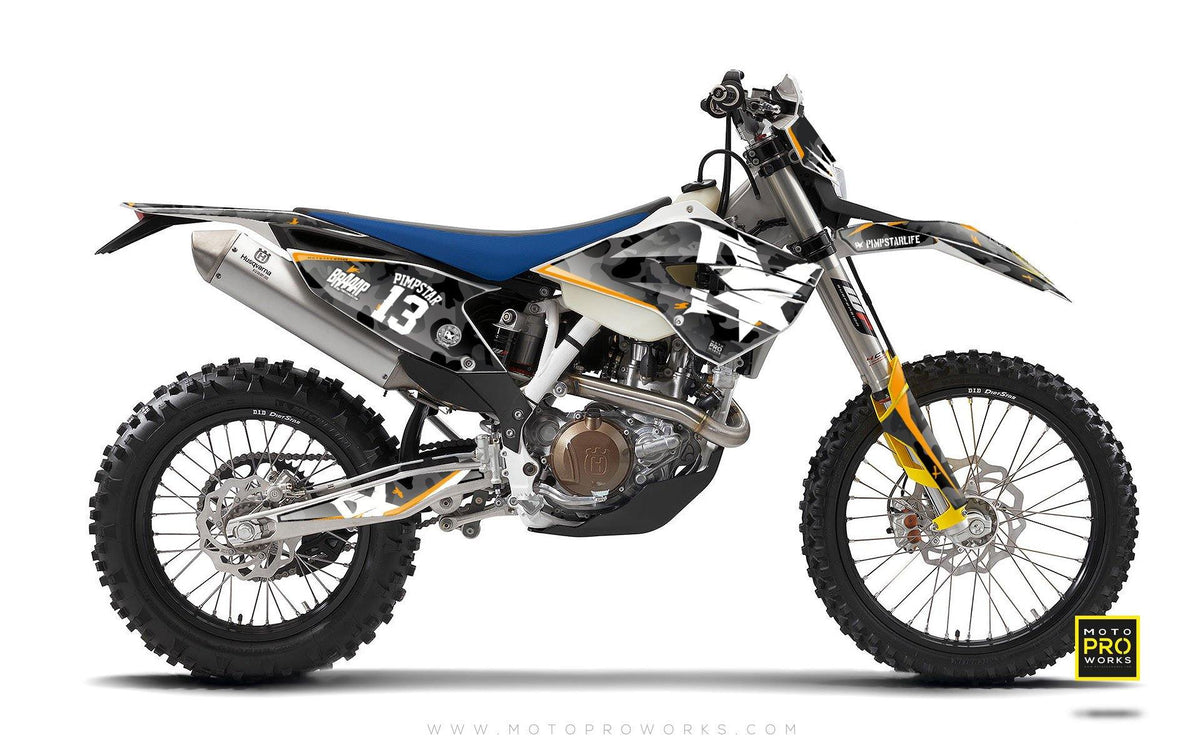 "Husqvarna GRAPHIC KIT - ""WILDCAMO"" - MotoProWorks 