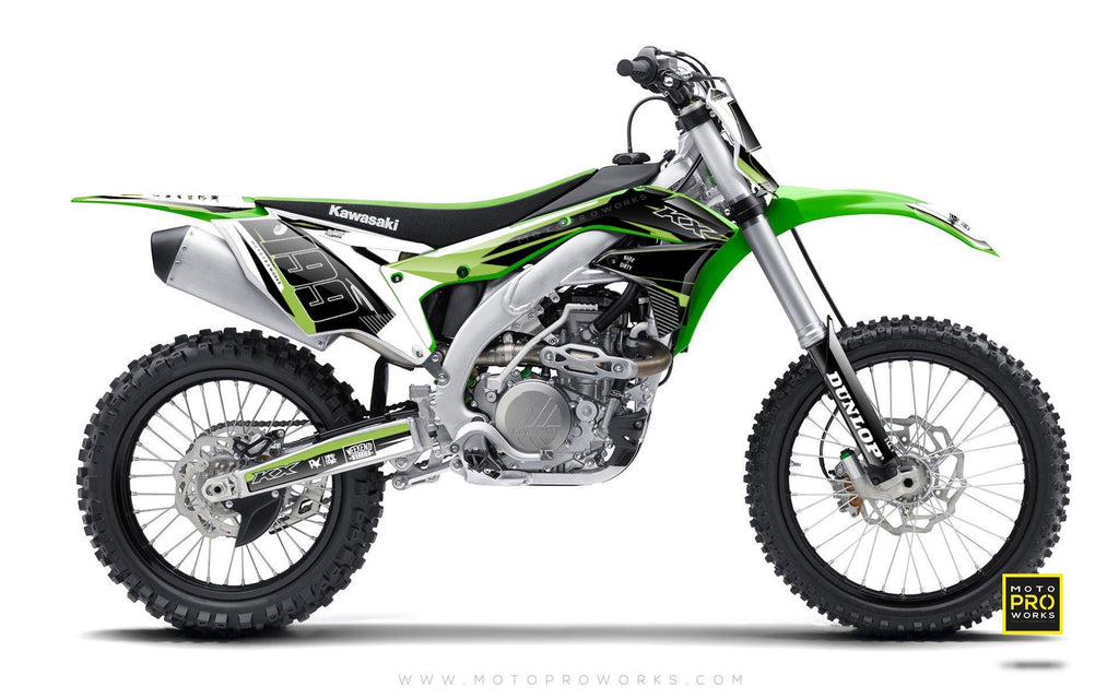 "Kawasaki GRAPHIC KIT - ""Avast"" - MotoProWorks 