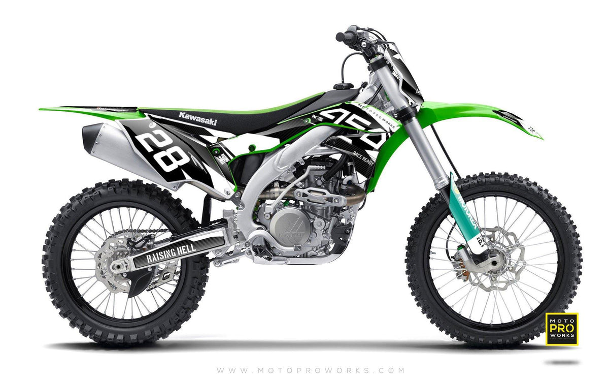 "Kawasaki GRAPHIC KIT - ""BACMONO"" - MotoProWorks 