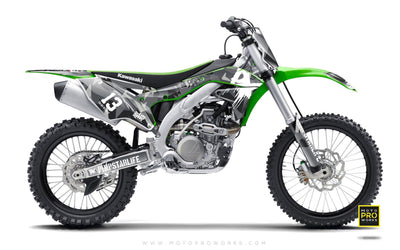 "Kawasaki GRAPHIC KIT - ""M90"" (urban) - MotoProWorks 