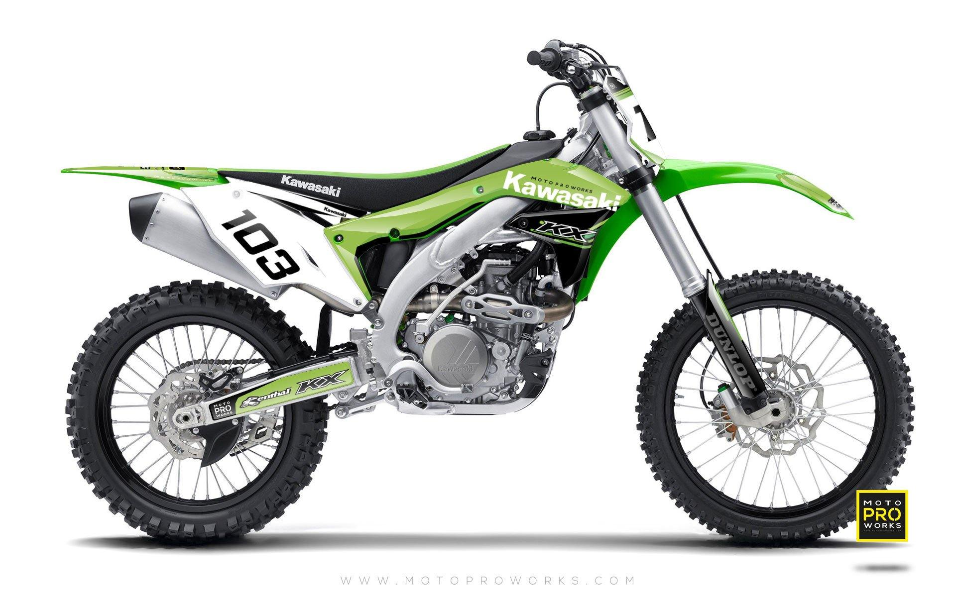 "Kawasaki GRAPHIC KIT - ""FLYNN"" - MotoProWorks 
