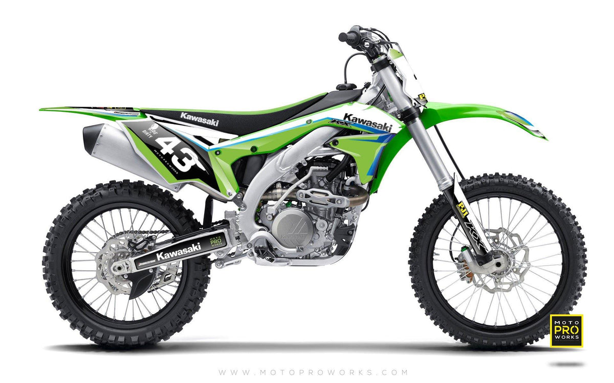 "Kawasaki GRAPHIC KIT - ""FORZE"" - MotoProWorks 