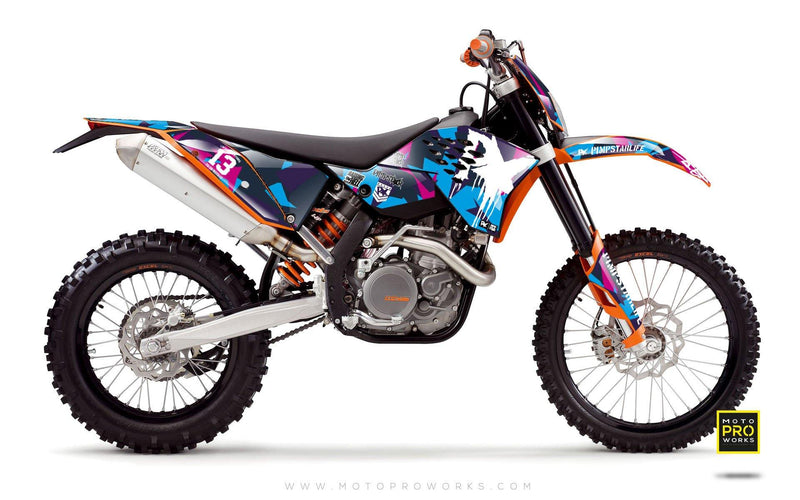 "KTM GRAPHIC KIT - ""M90"" (candy) - MotoProWorks 