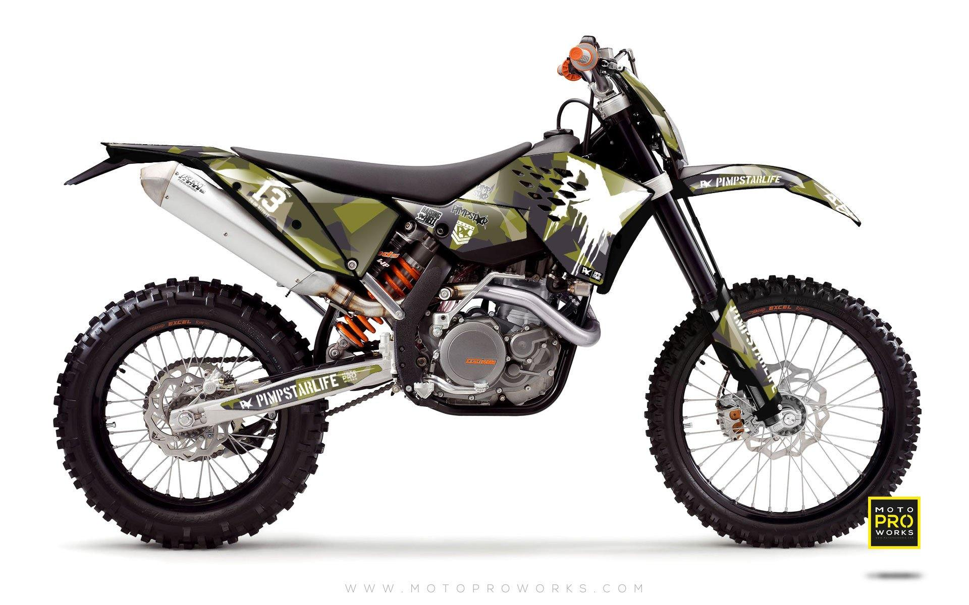 "KTM GRAPHIC KIT - ""M90"" (m90) - MotoProWorks 