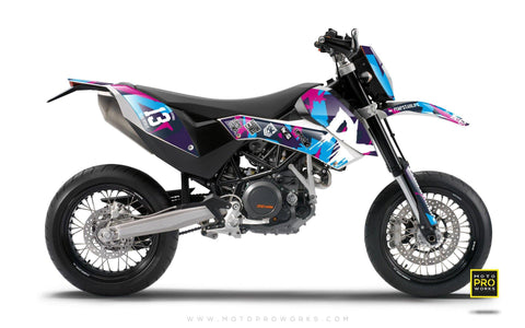 "KTM GRAPHIC KIT - ""M90"" (candy)"